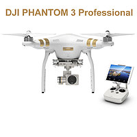 Квадрокоптер для аэросъемки DJI Phantom 3 PROFESSIONAL с 4К камерой и стабилизатором 3-Axis