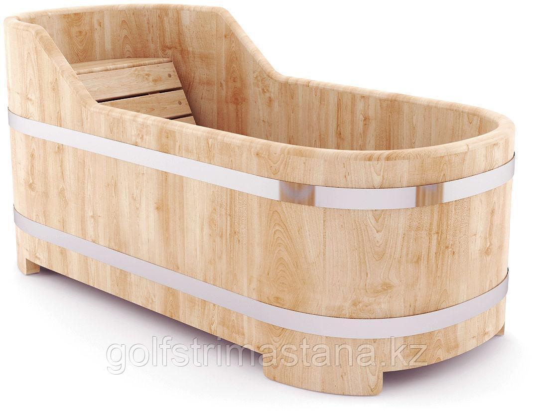 Ванна из кедра, 78*170*60-80 см