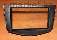 Переходная рамка Toyota RAV-4, 2DIN, пластик, черная, фото 1