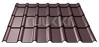 Металлочерепица Ruukki  Decorrey Grand ROUGH MATT 1190x1850x0.45mm (2,202м2) RR32/ЛЕСНОЙ ОРЕХ