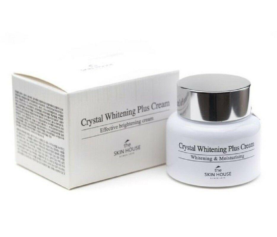 Крем  для лица осветляющий против пигментации The Skin House Crystal Whitening Plus Cream