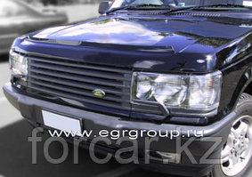 021021 Дефлектор капота темный Land Rover Range Rover 2005-