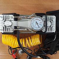 Автомобильный насос 2-х клапанный воздушный Компрессор, фото 1