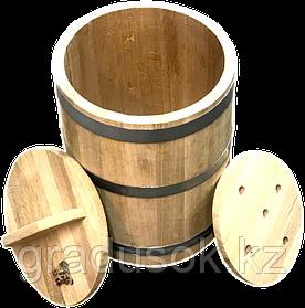 Кадка дубовая 25 литров
