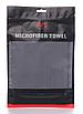 Микрофибра для протирки стекол SGCB Glass Microfiber Towel 40*40см 300 г/м2 серая, фото 4