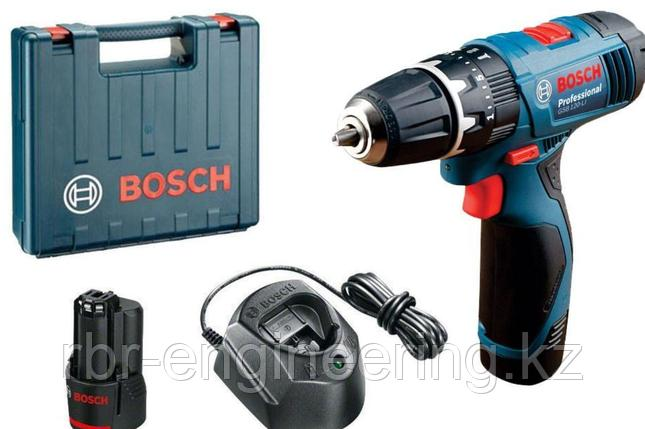 Аккумуляторная ударная дрель-шуруповерт Bosch GSB 120 LI Professional 06019F3006, фото 2
