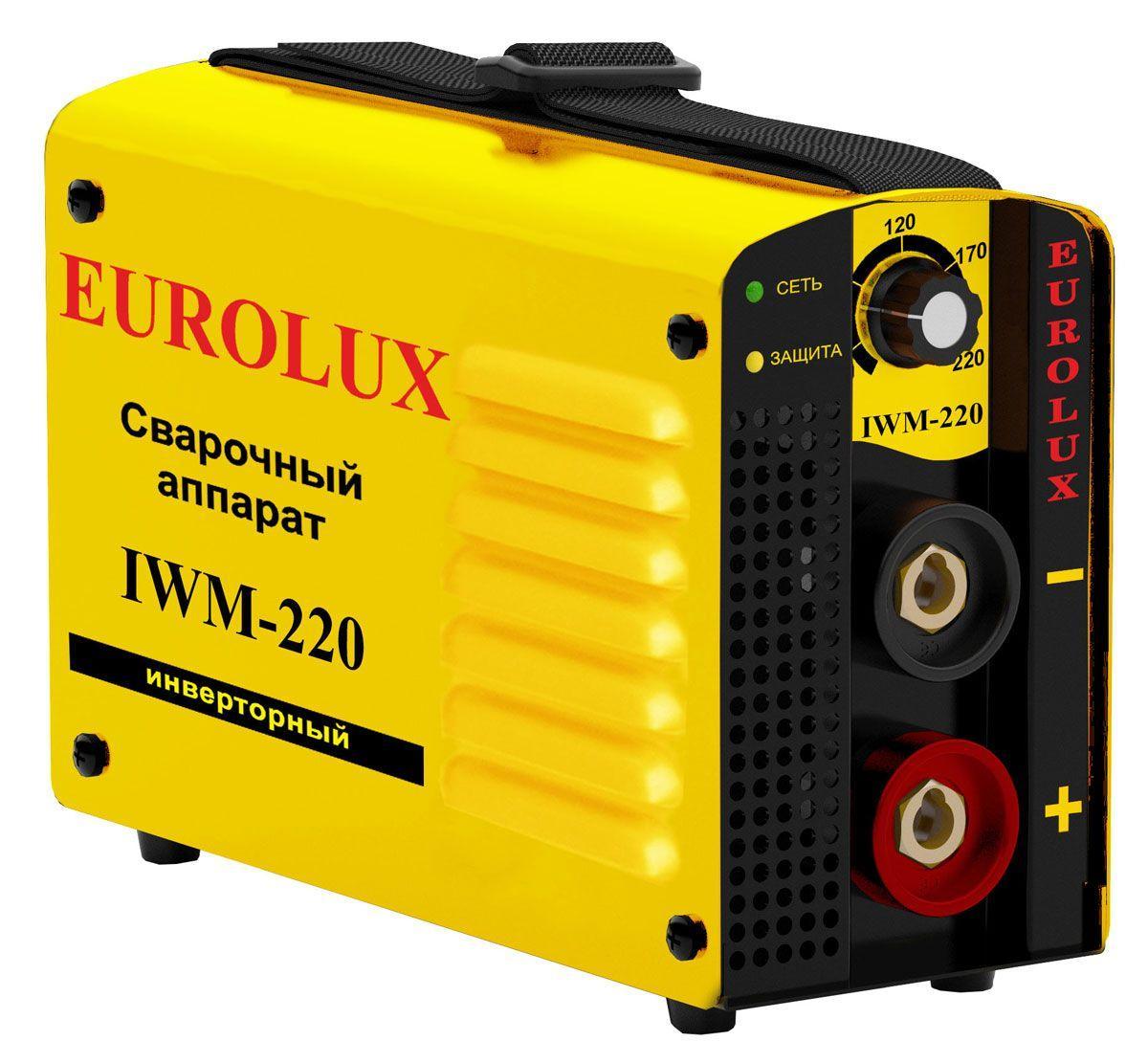 Сварочный инверторный аппарат EUROLUX IWM-220