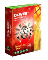 Антивирус Dr Web  Security Space Gold на (3 года), 1 ПК + 1 Android