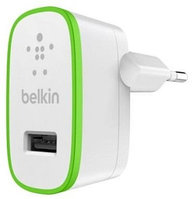 Сетевое ЗУ Belkin USB HomeCharger (USB 2.4Amp), Белый