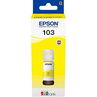 Чернила Epson 103 EcoTank Yellow  for L3100,3101,3110,3150  65ml C13T00S44A