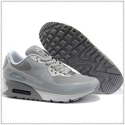 Кроссовки Nike Air Max 90 Hyperfuse серые, фото 2