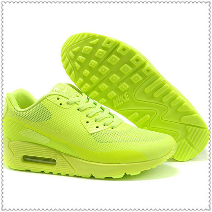 Кроссовки Nike Air Max 90 Hyperfuse PRM салатовые, фото 2