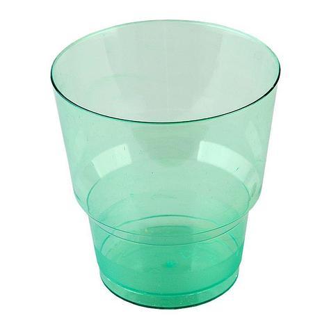 Стакан д/хол., 0.2л, зелён., кристалл, ПС, 1000 шт, фото 2