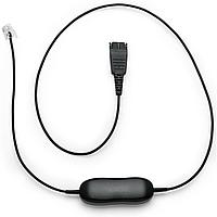 Jabra Кабель Smart Cord, QD to RJ9, straight, with 8-position swit