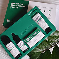 Набор для проблемной кожи с кислотами Some By Mi  AHA/BHA/PHA 30 Days Miracle Starter