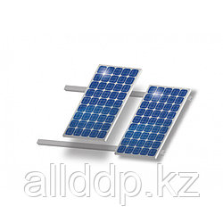 Комплект для наклонной крыши на 4 модуля, алюминий
