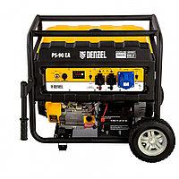 Генератор бензиновый PS 90 EA, 9.0 кВт, 230В, 25 л, коннектор автоматики, электростартер Denzel, фото 1