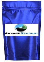 Пакет дой-пак металлизированный светло синий (рефлекс) матовый с замком зип-лок (zip-lock)