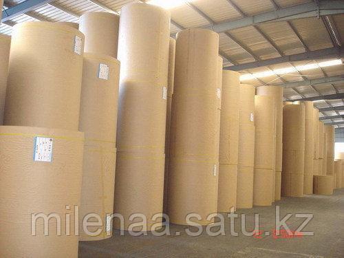 Крафт Бумага  Оберточная  Бурая Плотности 78, 80,100,125,140 грамм