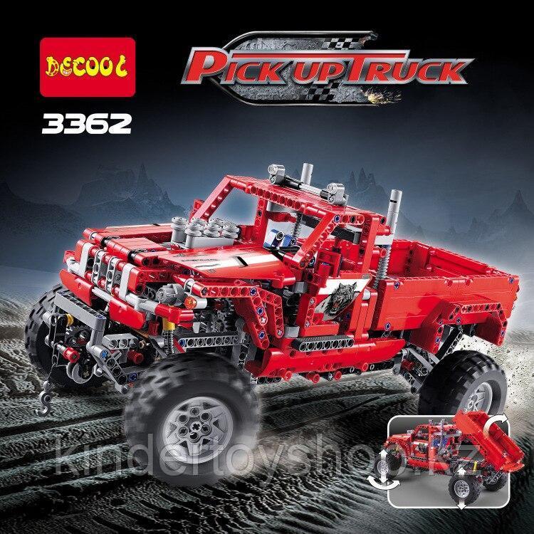 Конструктор Decool Technic Тюнингованный пикап 3362 (Аналог LEGO Technic 42029) 1063 дет