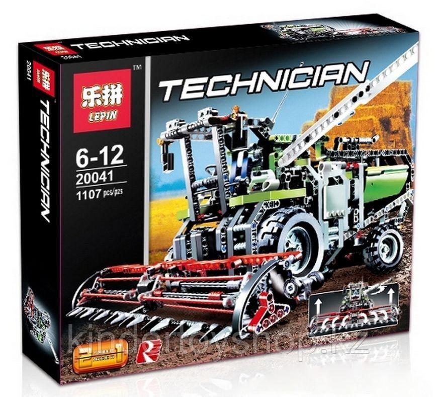 Конструктор Lepin Technic Уборочный комбайн 20041 (Аналог LEGO Technic 8274) 1107 дет