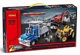 Конструктор Decool Technic Строительная команда 3365 (Аналог LEGO Technic 42023) 834 дет, фото 2