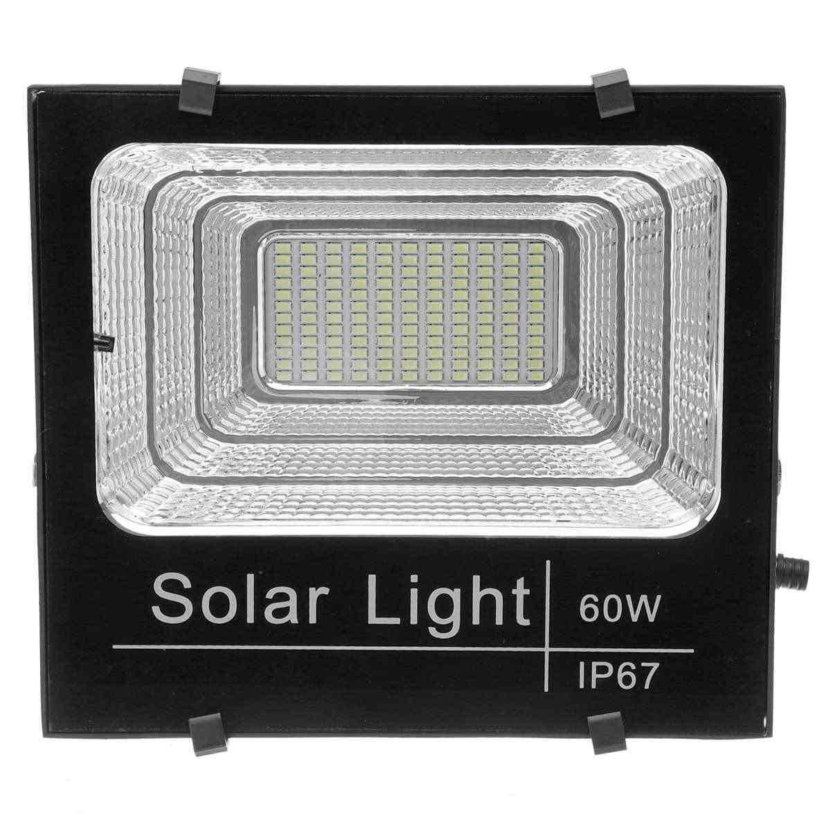 Solar Light Прожектор на солнечных батареях 60W с пультом управления