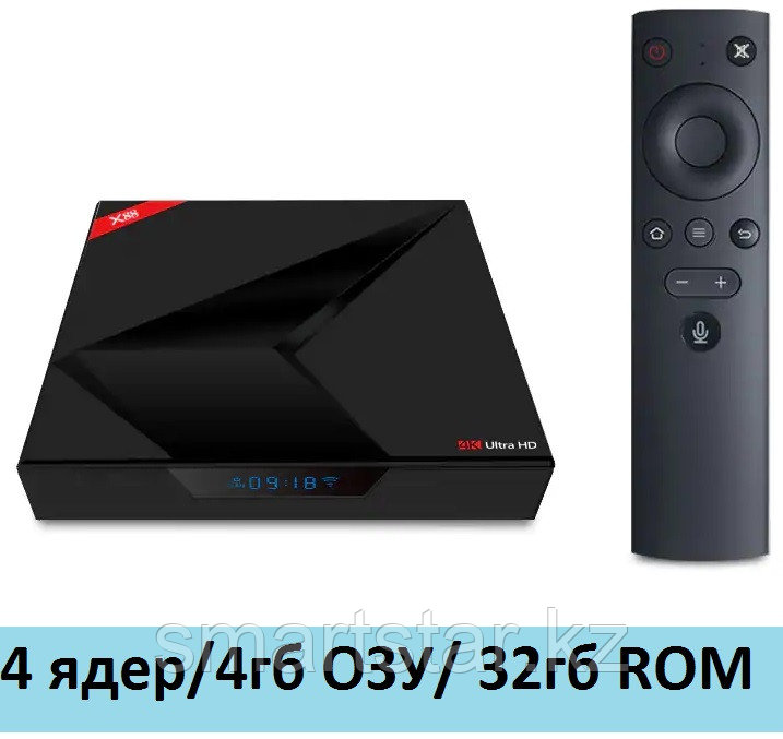 X88 4/32GB  android smart tv box