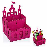 """Органайзер для канцелярии """"Замок принцесса"""""""