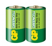 Батарейка GP Greencell 14G-S2, LR14, C, 1.5V