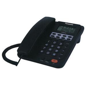 Телефонный аппарат с LCD-экраном Panasonic KX-TSC97CID (Черный)
