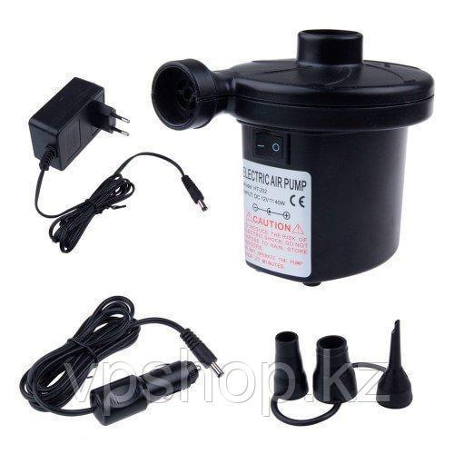Электрический насос от прикуривателя и резетки 2 в 1 для надувной мебели