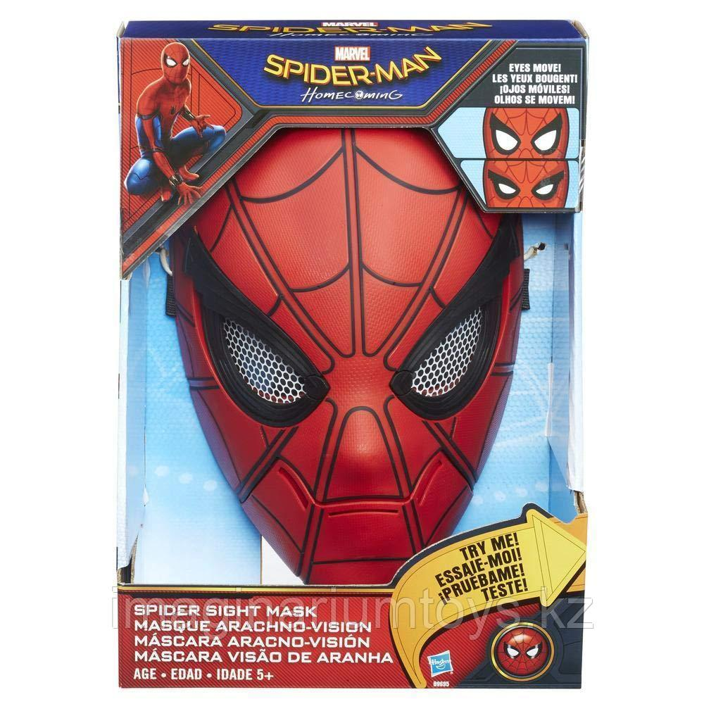 Маска интерактивная «Человек-паук» Spider-man
