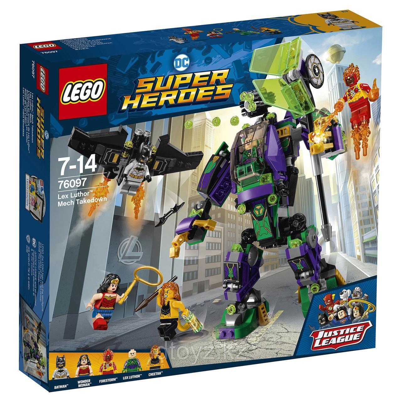 Super Heroes 76097 Сражение с роботом Лекса Лютора
