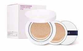 Кушон матирующий Missha Magic Cushion Cover SPF 50+ 15g. ( с запаской)