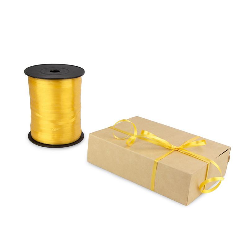 Лента декоративная 0,5 см (золотая)*500 метров