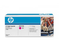 Картридж HP CE743A Magenta Print Cartridge for HP LaserJet CP5225, up to 7300