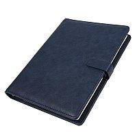 Ежедневник недатированный Coach, формат B5 в подарочной коробке Темно-синий -