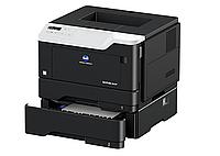 Монохромный черно-белый принтер Konica Minolta Bizhub 3602p. Копир — принтер —сканер формата А4.