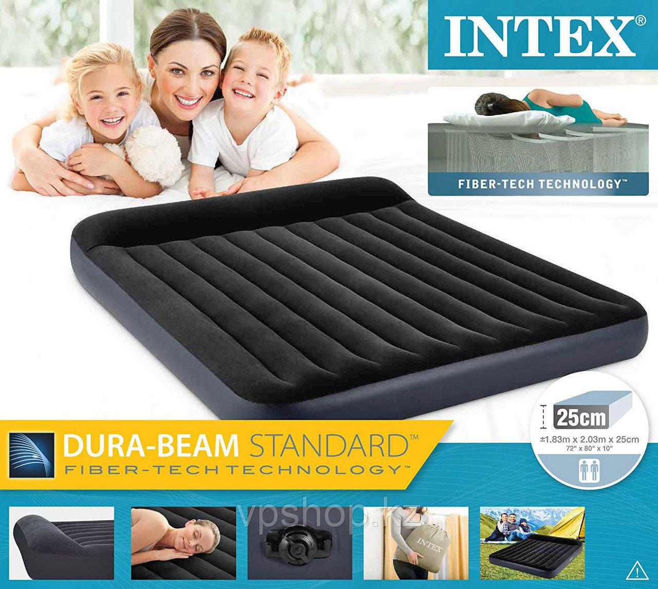 Надувной матрас Intex 64144 Dura Beam, доставка