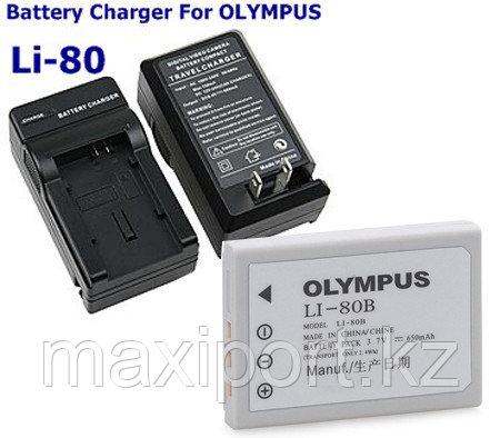 Зарядка olympus li80 LI-80, фото 2