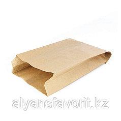 Пакет с плоским дном 140*60*250 мм, крафт