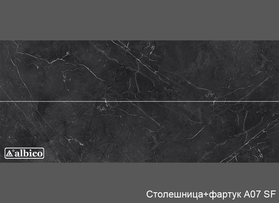 Комплект Панель + Столешница A 007 универсал (без рисунка)