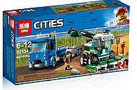 Конструктор Аналог LEGO City 60223 LEPIN Cities 02134 Транспортировщик для комбайнов  401 дет, фото 1