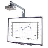 Установка интерактивной доски и проектора