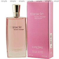 """Lancome Miracle Tendre Voyage туалетная вода объем 75 мл"""""""
