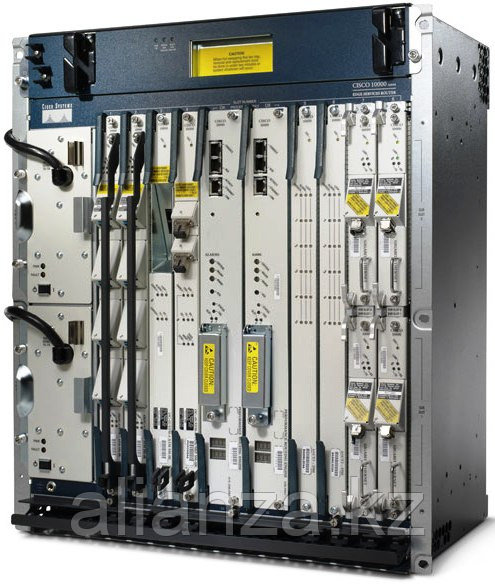 Cisco 10000 eight slot chassis, 2 PRE4, 2 AC PEM