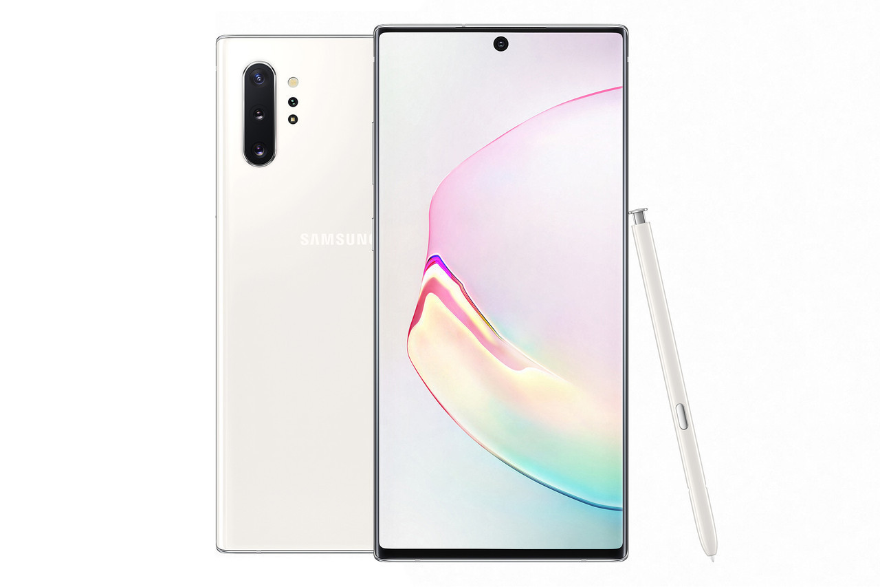 Samsung Galaxy Note 10 Plus Dual 12/256GB White
