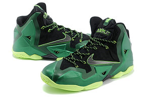 Баскетбольные кроссовки Nike LeBron 11 (XI)  Green, фото 2