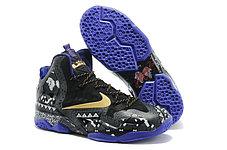 Баскетбольные кроссовки Nike LeBron 11 (XI) Elite черные, фото 3
